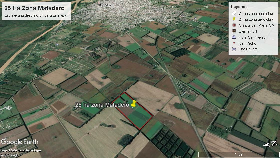 25 Ha Zona Matadero, San Pedro
