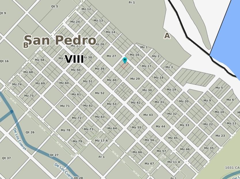 Plano de la localidad